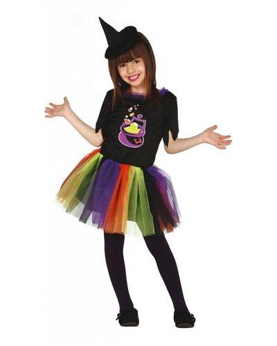 Magicoo Kostüm Hexe für Kind