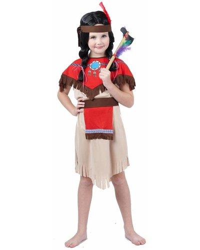 Magicoo Kinderkostüm Indianerin