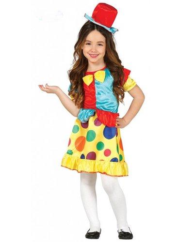 Magicoo Clown Kostüm für Mädchen