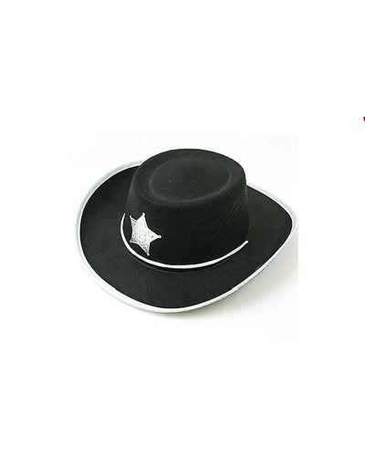 Magicoo Cowboy Hut für Kinder schwarz