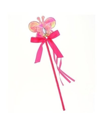 Magicoo Zauberstab mit rosa Schmetterling