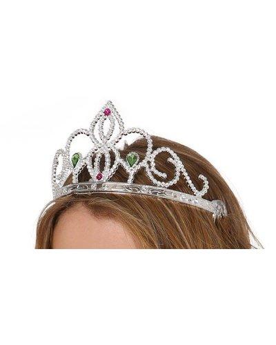 Magicoo Silber Diadem für Prinzessinnen