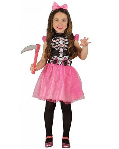 Magicoo Skeleton Kostüm für Mädchen