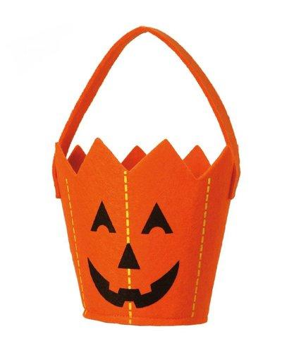 Magicoo Halloween Kürbis Eimer / Kürbis Korb für Kinder