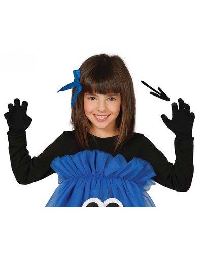 Magicoo Schwarze Handschuhe für Kinder