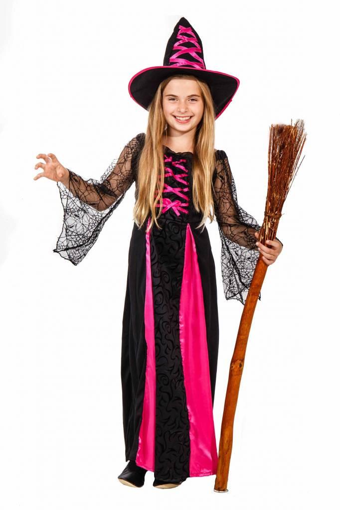 Startseite  Zauberhexe  Hexenkostüm für Kinder pink schwarz