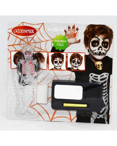 Magicoo Schminkset Skelett für Halloween
