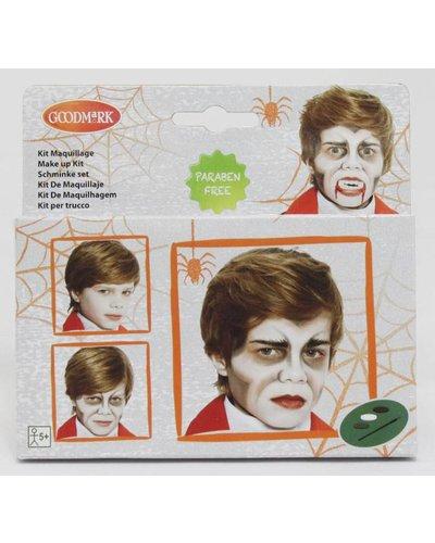 Magicoo Schminkset Vampir Dracula für Halloween