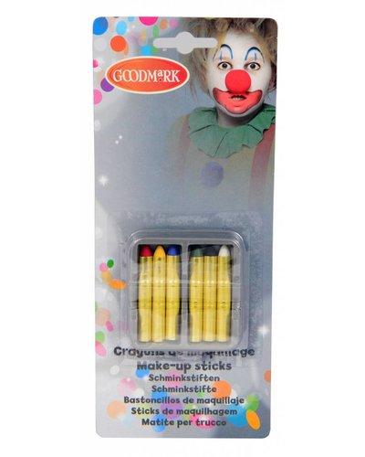 Magicoo Schminkset - Schminkstifte in 6 Farben
