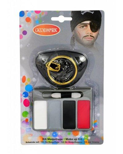 Magicoo Schminkset mit Augenklappe für Piraten