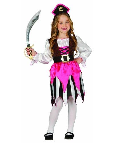 Magicoo Piratin aus Karibik Kostüm Kinder