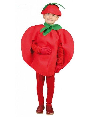 Magicoo Gemüse Kostüm Tomate Kostüm für Kinder
