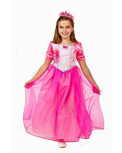 Magicoo Prinzessin Kostüm Kinder rosa pink