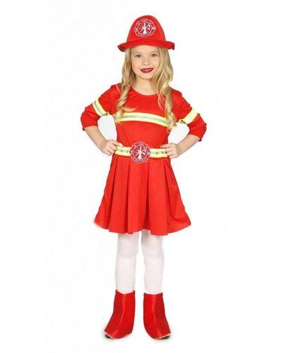 Feuerwehrkostüm für Mädchen