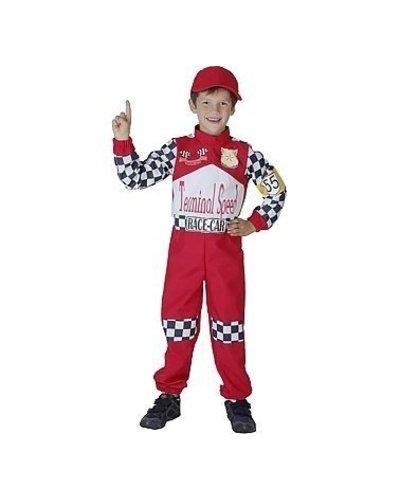 Magicoo Formel 1 Kostüm für Kinder inkl. Overall & Kappe