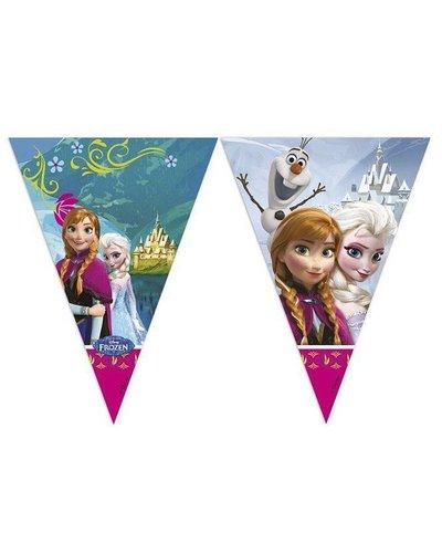 Disney Wimpelgirlande 230 cm lang mit Frozen-Motiv
