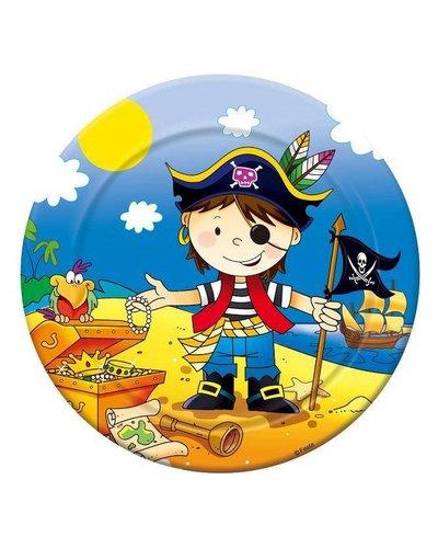 Magicoo 6 Teller für Piratenparty