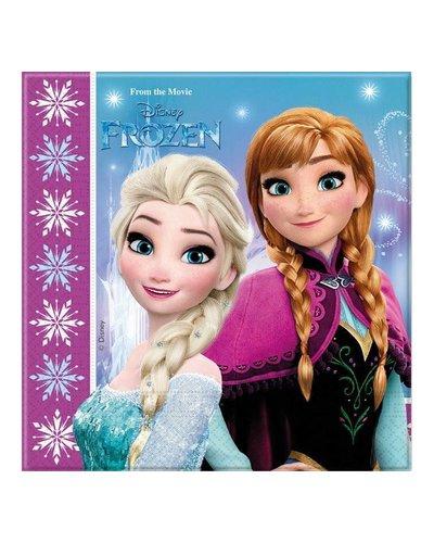 Disney 20 Servietten mit Frozen-Motiv