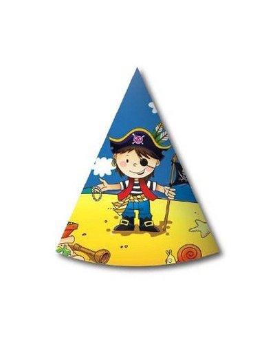 Magicoo 6 Partyhüte Piratenparty