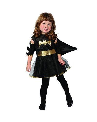 Magicoo Halloween Fledermaus Kostüm Kleinkind schwarz-gold Größe 92-104