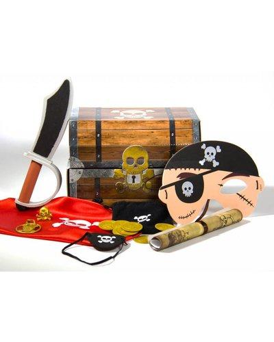 Magicoo Piraten Schatzkiste für Kinder