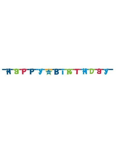 "Magicoo Wimpelgirlande 1,8 Meter lang ""Happy Birthday"" für Kindergeburtstag"