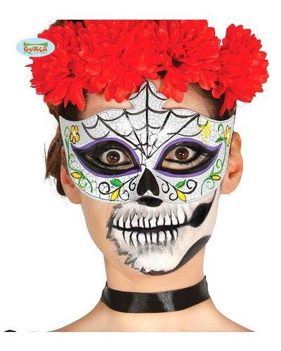 "Magicoo Skelett Maske ""Tag der Toten"""