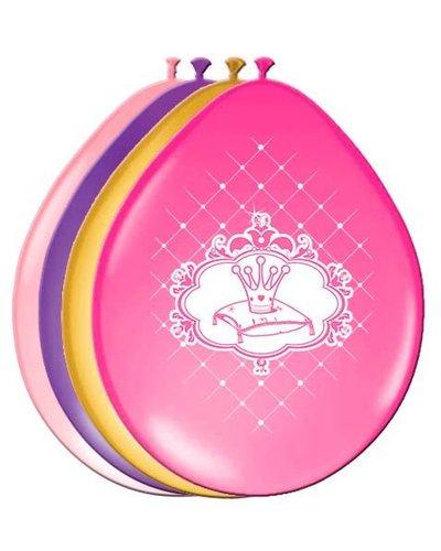 Disney 5 bunte Luftballons für Prinzessinnenparty