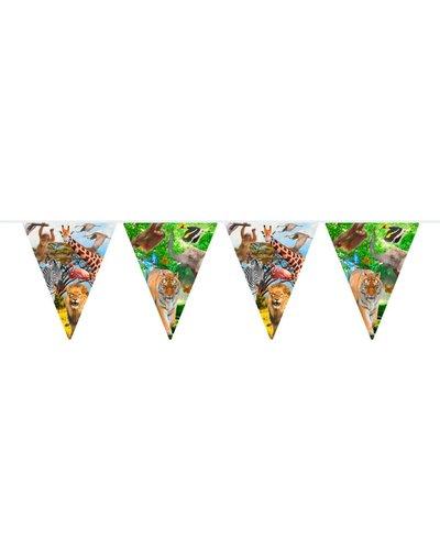 Magicoo Wimpelgirlande Tierparty - Safari-Party