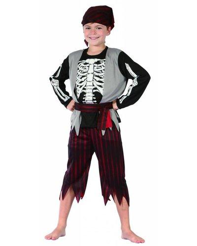 Magicoo Kinderkostüm Skelett Pirat