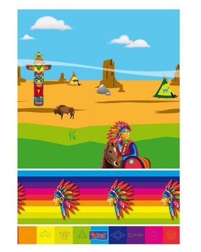 Magicoo Indianen party tafelkleed