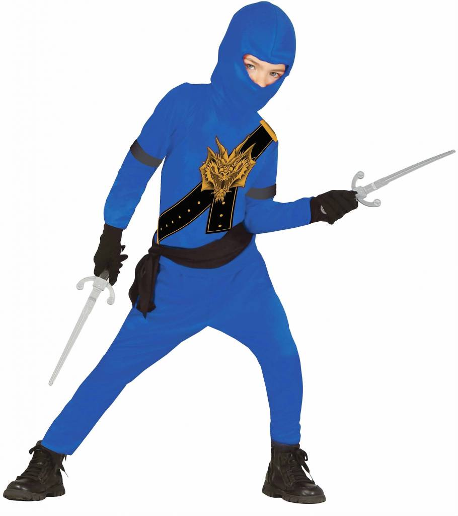 kost m ninja f r kinder blau ninja go magicoo magicoo. Black Bedroom Furniture Sets. Home Design Ideas