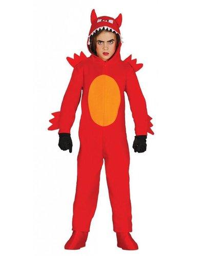 Magicoo Dämon - Teufel Kostüm für Kind - Teufelchen Kostüm