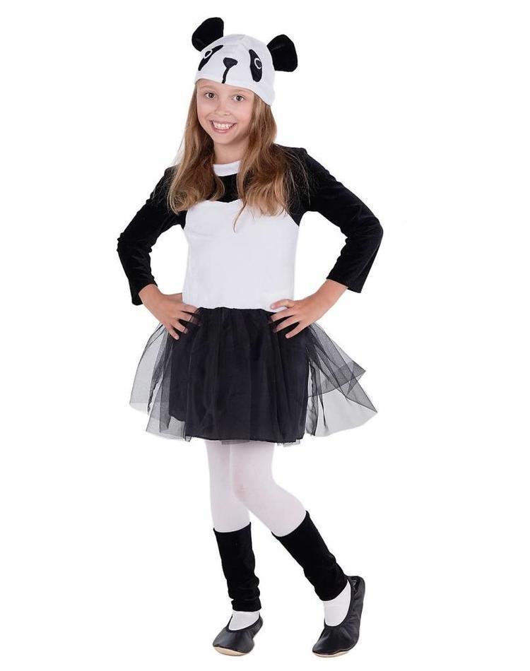 kostum panda deluxe fur madchen