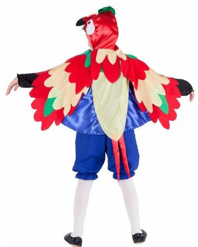 Magicoo Papagei Kostüm Kinder - Kinderkostüm Papagei