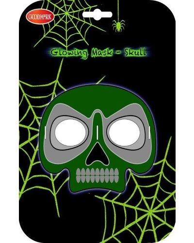 Magicoo Halloween leuchtende Totenkopf-Maske