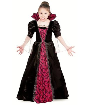 vampir kost m f r m dchen rot schwarz. Black Bedroom Furniture Sets. Home Design Ideas