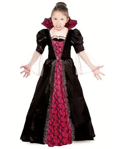 Magicoo Lady Vampiressa - Vampir Kostüm Vampirkleid für Mädchen Halloween