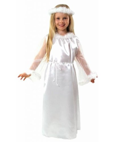 Magicoo Deluxe Engel Kostüm für Mädchen
