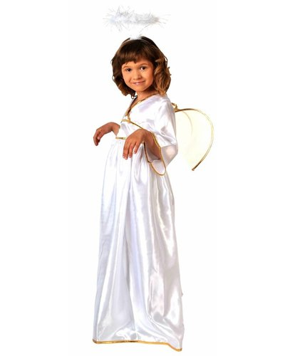 Magicoo Deluxe Weihnachtsengel Kostüm für Mädchen