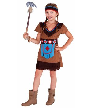 Magicoo Indianerin Kostüm für Kinder