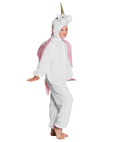 Magicoo Einhorn Kostüm Kind weiß-rosa