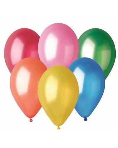 Magicoo Bunte Luftballons im Metallic-Look
