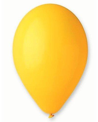 10 Premium Luftballons in Gelb