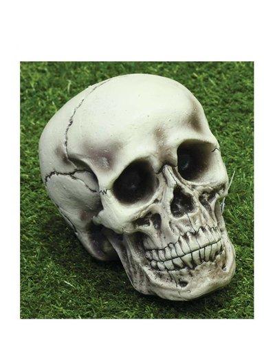 Totenkopf - Halloween Dekoration -21 cm groß