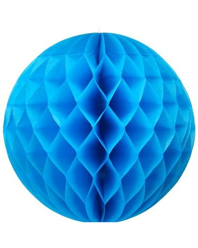 Party Wabenball blau - 30 cm