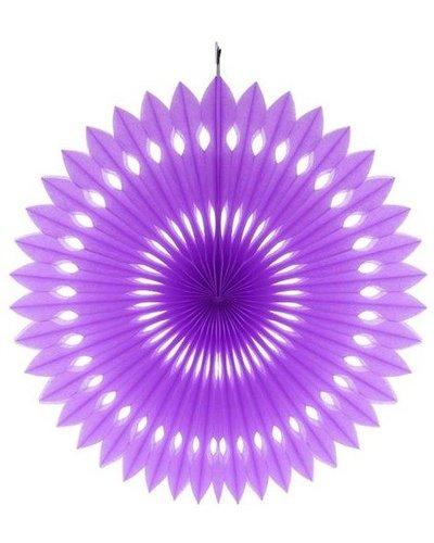 Magicoo Papierfächer lila - 40 cm