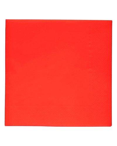 Magicoo Servietten in Rot  - 20 Stück - 33x33 cm