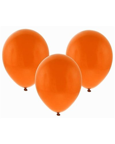 Luftballons in Orange - 10 Stück