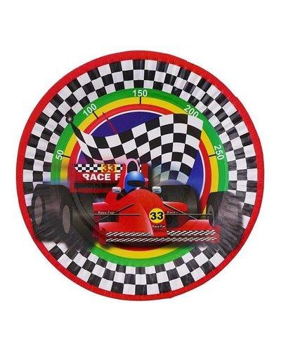 """Partyteller """"Autos - Formel 1"""" - 6 Stück - 18 cm"""